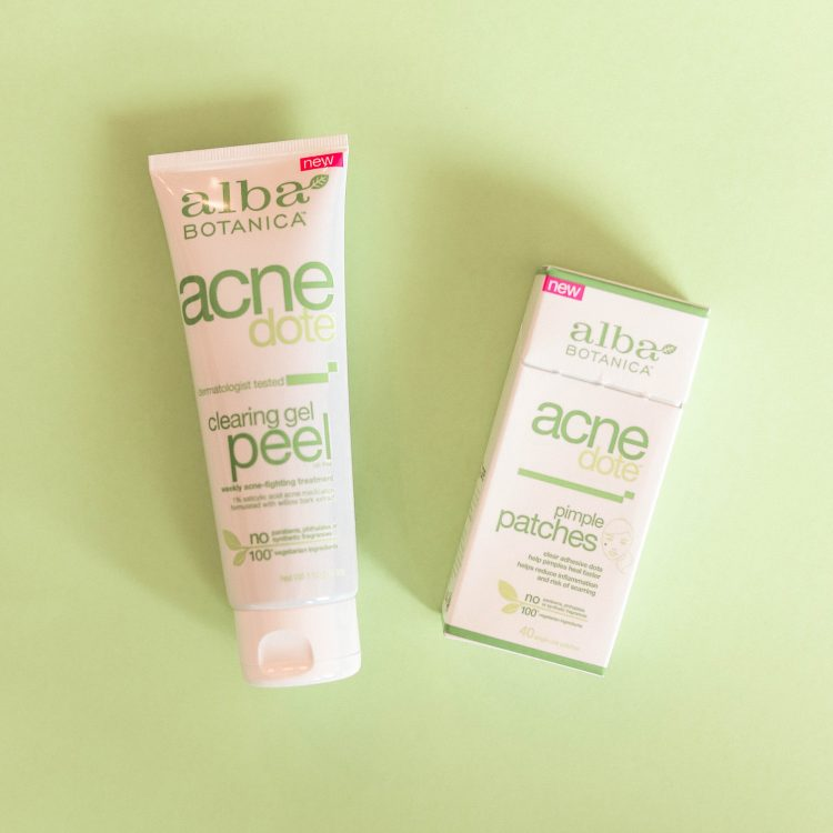 My Skincare Regimen using Alba Botanica Acnedote